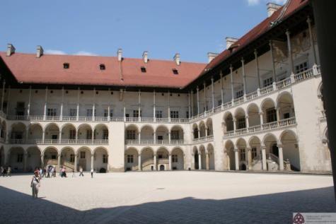 Franciszek Florentczyk, Bartolomeo Berrecci – zamek na Wawelu