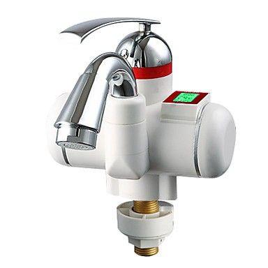 scaldacqua elettrici digitali rubinetto della cucina fredda schermo intelligence hot dual-purpose