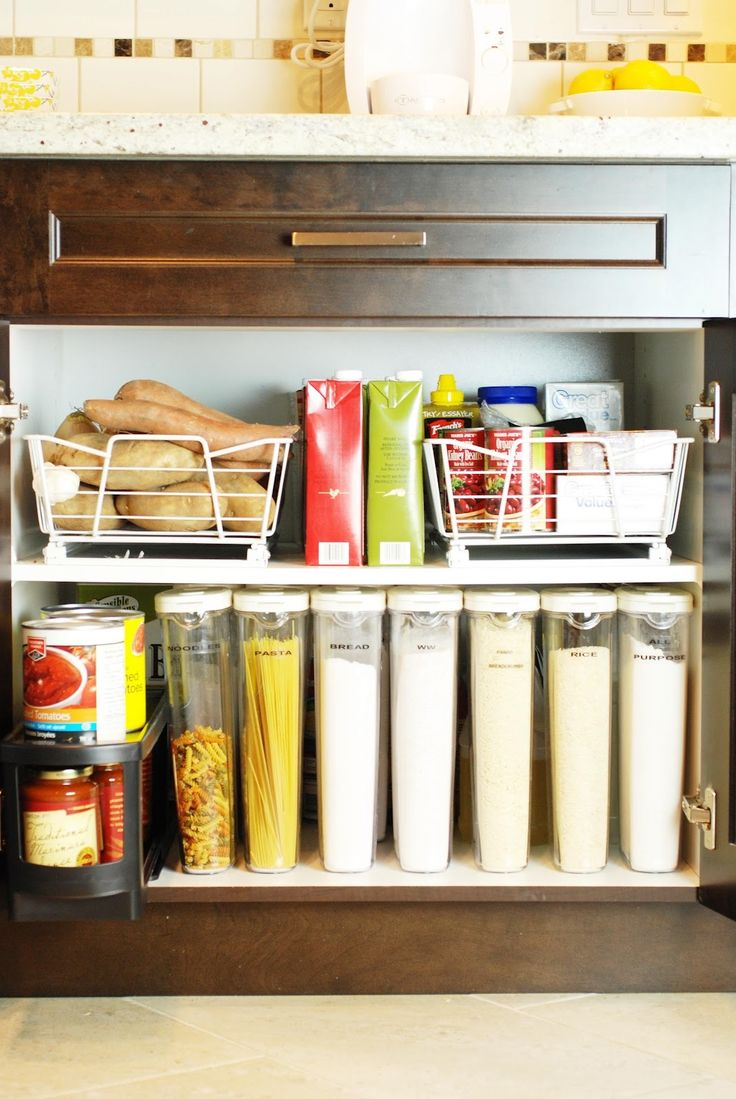 Küche Schrank Organisation Ideen Küchenmöbel