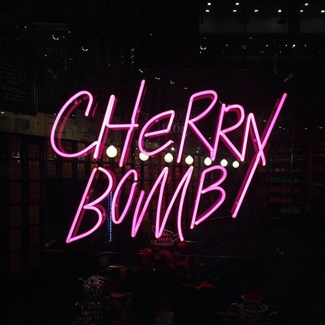 I'm your ch ch ch ch ch cherry bomb