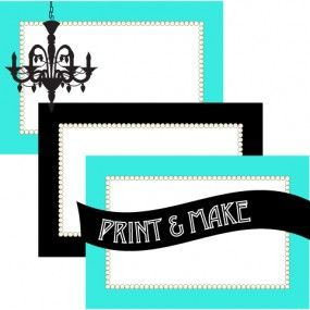 FREE! Printable Breakfast at Tiffany's Themed Buffet Labels & Place Cards  - Style My Party www.stylemyparty.co.uk