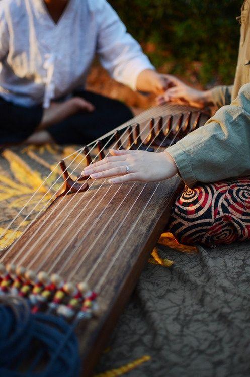 Gayageum, Korean String Instrument