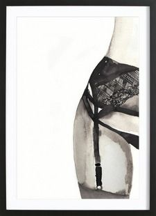 HALFWAY TO EIGHT POINTS - Victoria Verbaan - Gerahmtes Poster