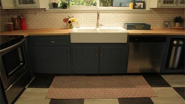 Diy custom kitchen floor mat kitchen and dining room for Diy luxury kitchens