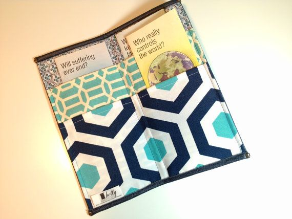 Tract Holder Organizer Free Shipping by HollyHandstitched on Etsy, $16.00