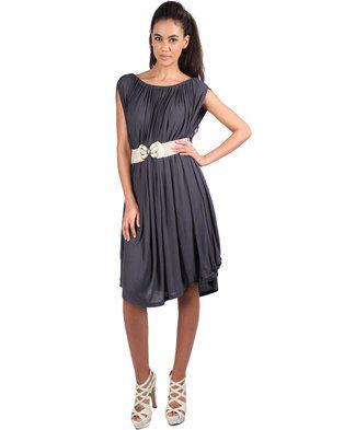 Michelle Ludek Eden Dress Grey