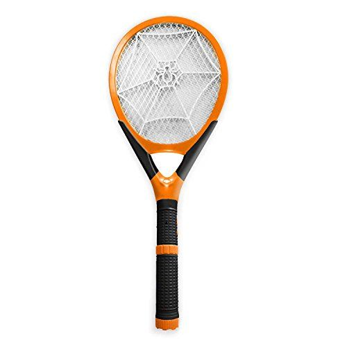 Rechargeable Bug Zapper, Fly Swatter, Electric Wasp Killer, Mosquito Zapper with Detachable Flash Light > Rechargeable Bug Zapper kills insects on contact Large swatter mesh with a fashionable design Rechargeable Bug Zapper strong, durable, built-to-last, and made from new ABS material