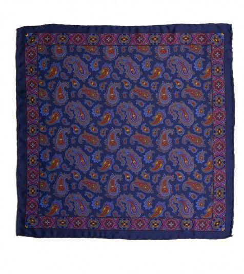 Classic Silk Shoe String Pocket Square - Pocket Squares - Online Shop - Drakes London