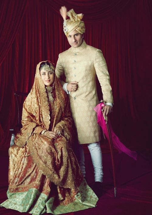 Wedding of Saif Ali Khan and Kareena Kapoor