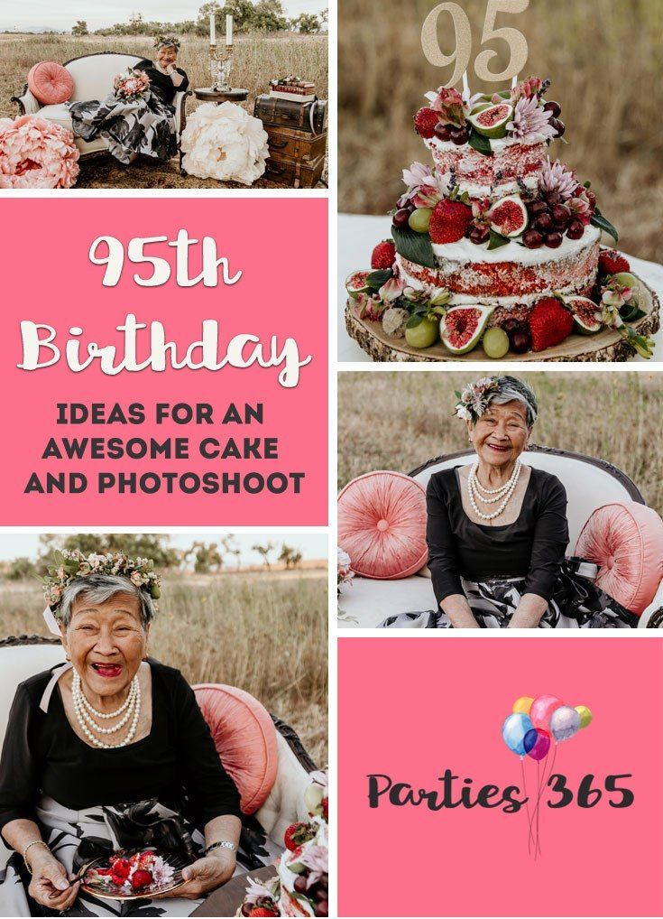This Grandmas 95th Birthday Party Was Captured By Her Granddaughter During Vintage Inspired Milestone Photoshoot Featuring A Stunning