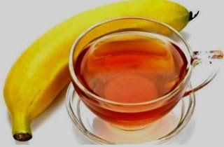 Chá de banana, cravo e canela