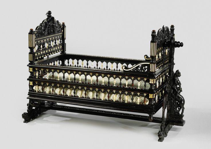 Cradle, Anonymous, c. 1650 - c. 1700