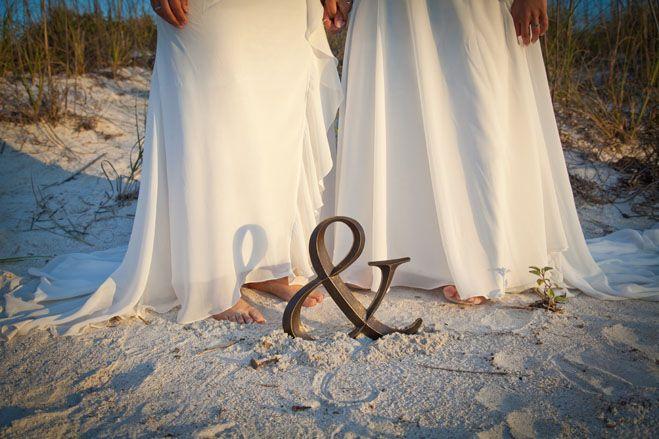Gay & Lesbian Beach Weddings. (Wedding Planner Mallorca fabeventslab.com)