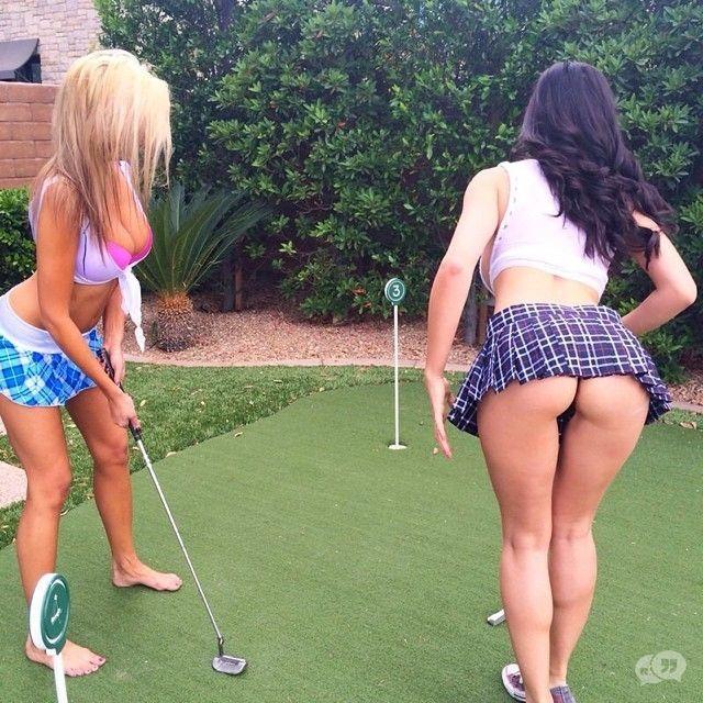 Sexy golf butt