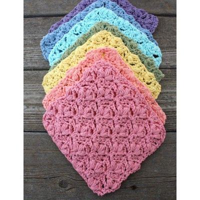 Free Easy Dishcloth Crochet Pattern