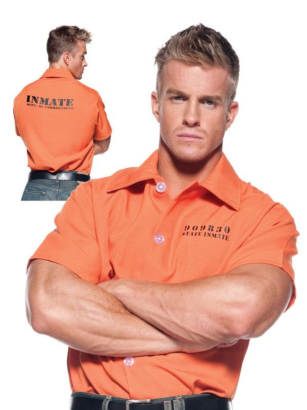 Check out Prisoner Shirt Costume - Wholesale Convicts Costumes for Men from Wholesale Halloween Costumes