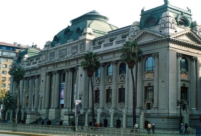 Biblioteca de Santiago (Chile) #sinbadtrips