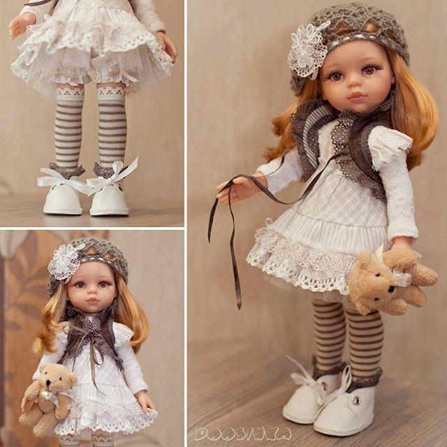 #платьедлякуклы#paolareinа комплектик уже нашёл свою маленькую хозяйку :)
