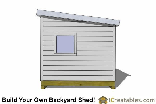 12x12 Modern Shed Right 12x12shedplan Shed Modern Shed Shed Plans