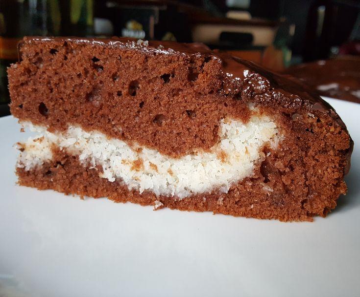Jamaika-Kuchen / Bounty-Kuchen / Kokos-Schoko-Kuchen