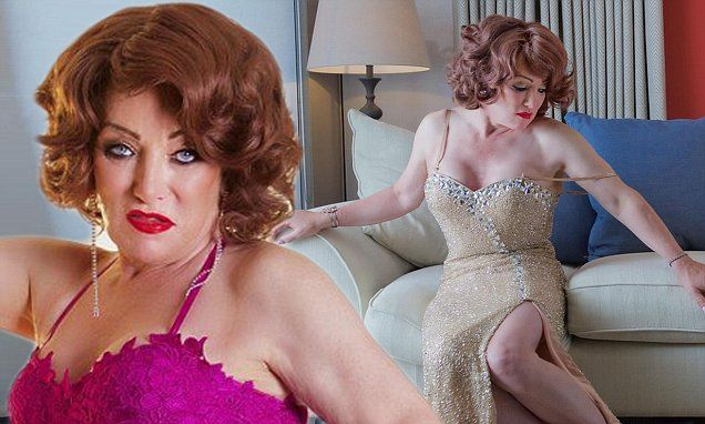 Former boxing Promoter Frank now Kellie Maloney shows off her striking new look for photoshoot