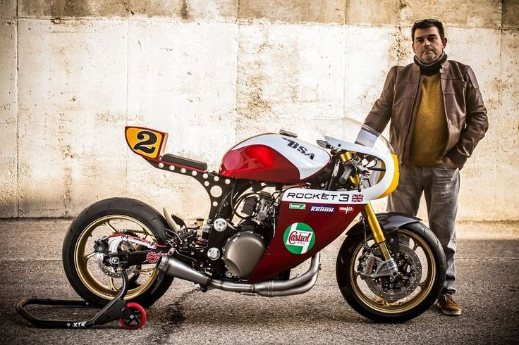 Triumph Legend TT 900 Cafe Racer by XTR Pepo (@xtrpepo) #motorcycles #caferacer #motos   caferacerpasion.com