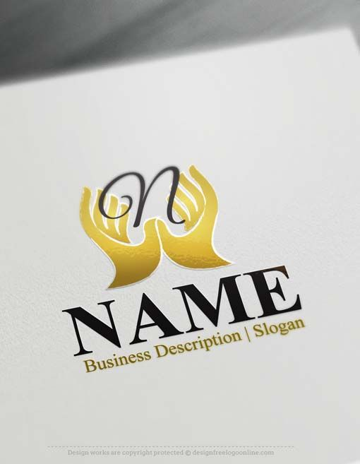 Create a Logo Free – Hands Logo Templates