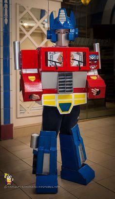 Coolest G1 Optimus Prime Costume... Coolest Homemade Costumes