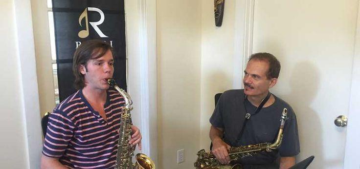 4 One Hour #Jazz #Saxophone Lessons on how to improvise jazz on the saxophone. Rick is a Grammy Winning saxophone performer and teacher who has devised a method of teaching which cuts out years of slow progress in this 4 month proven system. See the proof in the video below. It usually takes most teachers at least 2 - 5 years to do what my students learn in 3 - 6 months. Listen for yourself! #WTpack #classes #lessons