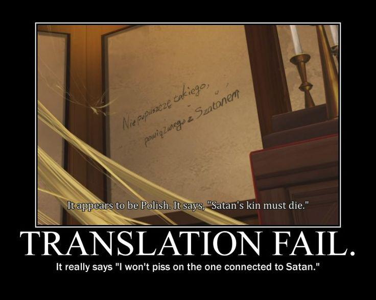 funny blue exorcist posters | Translation fail by ~WinterBloodDrop on deviantART
