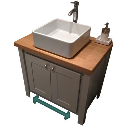 Vanity Unit Width - with different work top and undercounter sink