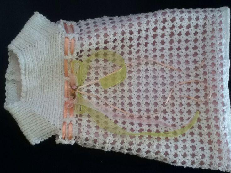 Vestido crochet niña 3años | Ropa bebe | Pinterest