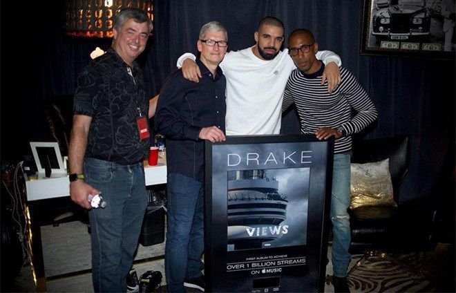 Drakes Views is the first album to break one billion stream
