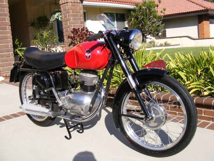 1955 Gilera 150 Sport vintage motorcycle for sale via Rocker.co