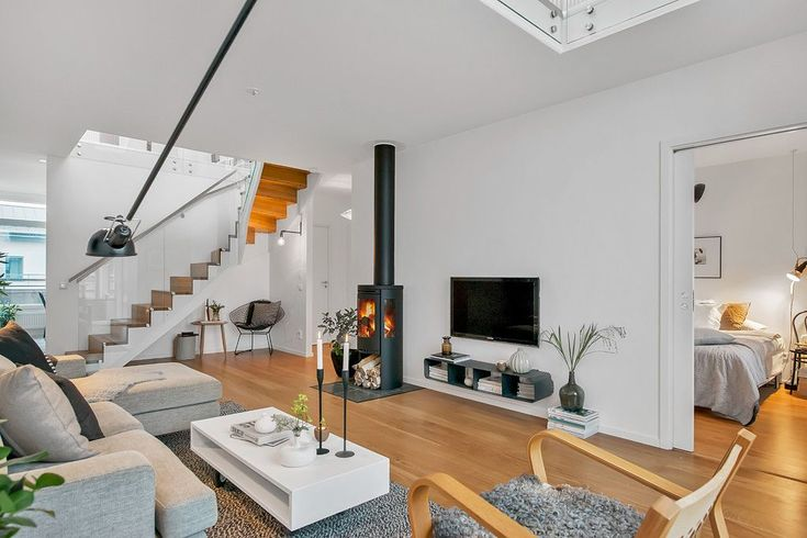 Architecture : Interior Modern Crib1 And Wooden Floor Also Stairs With Sofa And Fur Rug As Well Bedroom And Chandelier Also Led Tv Ideas Chair Also Picture Frame Ideas Lovely Scandinavian Design Ideas Scandinavian Design San Mateo. Scandinavian Design Furniture. Scandinavian Interior Design.