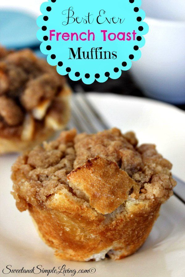 Best Ever French Toast Muffins It's a snack, it's breakfast, it's a dessert….it's anything you want it to be! These Best Ever French Toast Muffins are great for any time of the day. This is a whole new twist on french toast and I'll take it! I have to say, my husband is actually the […]