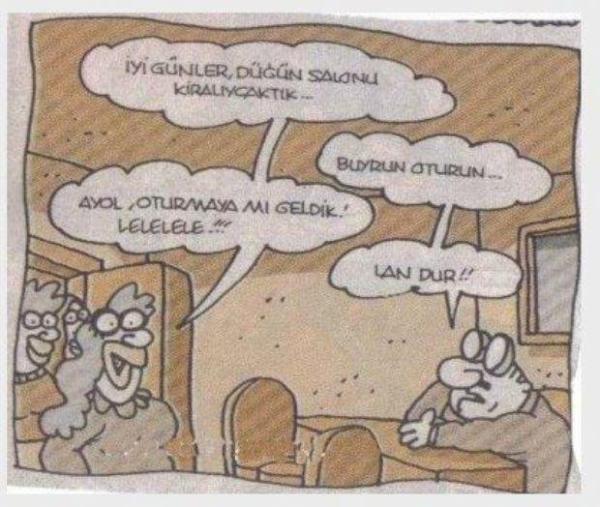 Karikatür: Oturmaya Mı Geldik? - Yiğit Özgür