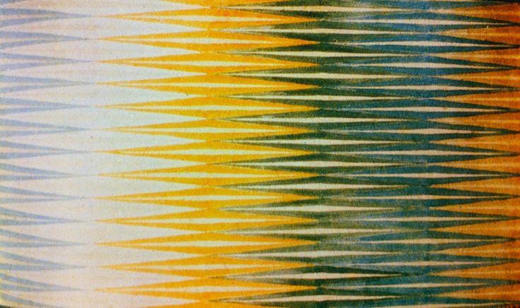 Iridescent Interpenetration Giacomo Balla oil and wax crayon on canvas 1912