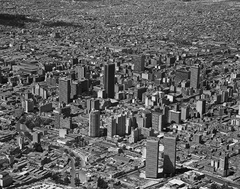 Panorámica de Bogotá / Saúl Orduz / 1971 / Colección Museo de Bogotá: MDU-2882 / Todos los derechos reservados