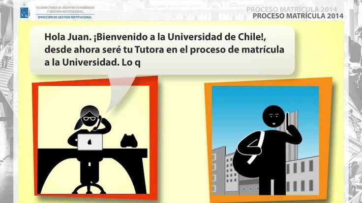 Nueva plataforma para Matrícula simplificó proceso de ingreso 2014 a la Universidad. Ver más en http://uchile.cl/u100447