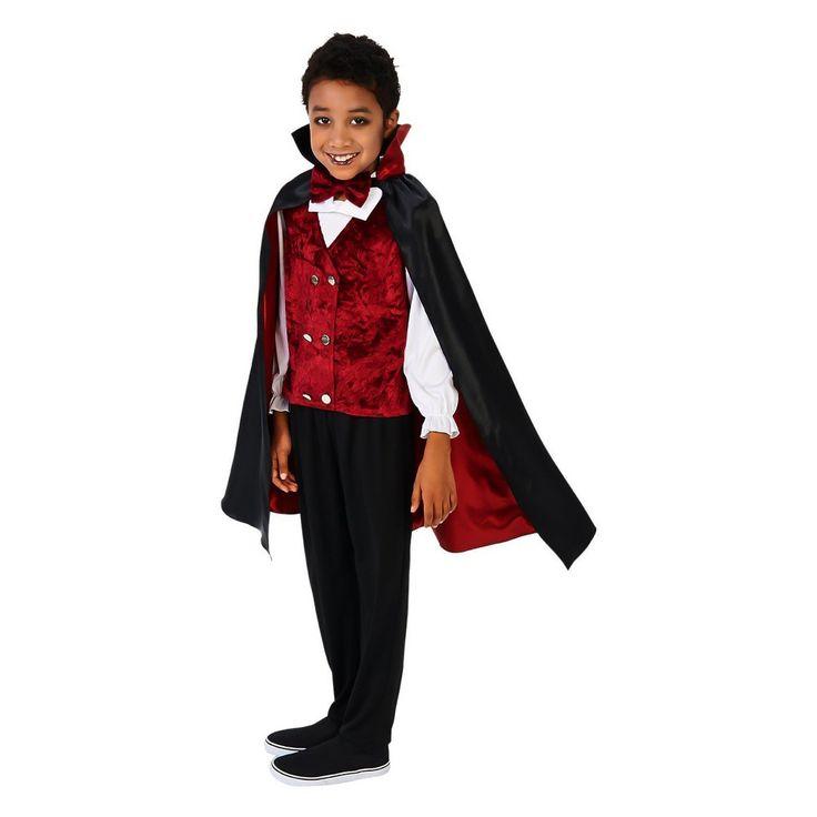 Transylvanian Vampire Kid's Costume Kit-Medium, Girl's, Size: Medium, Multicolored