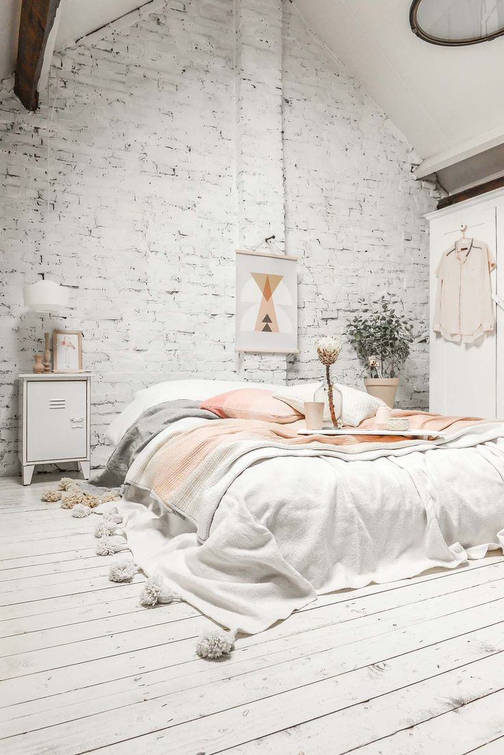 25 best ideas about scandinavian bedroom on pinterest Scandinavian wallpaper and decor