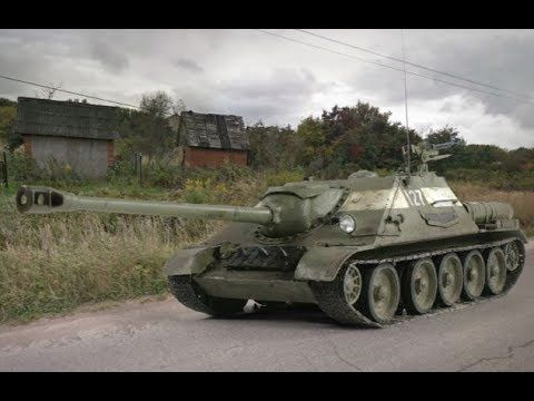 World of Tanks SU-122-44 14 kills Soviet Rampage 5.189 DMG 1.980 EXP - P...