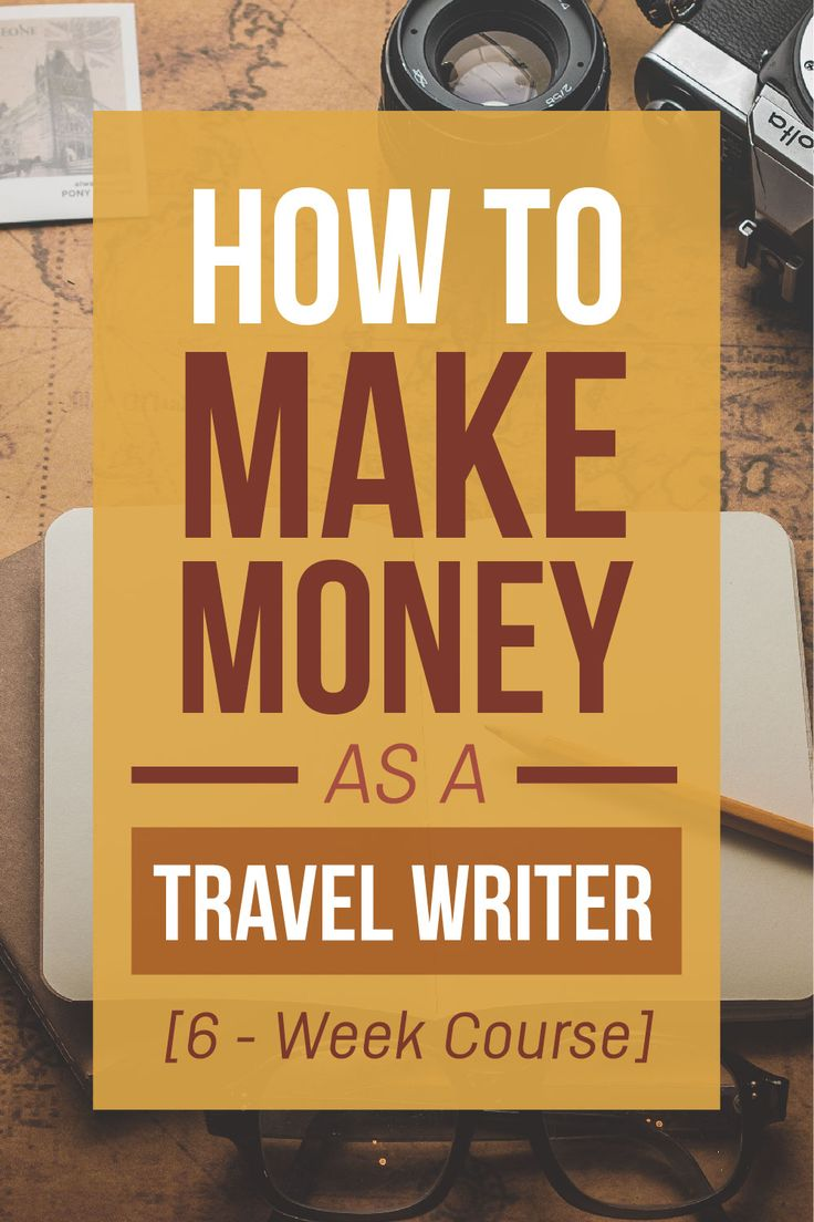 Become a travel writer? Maybe I will! #affiliate