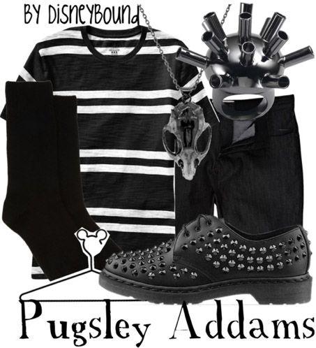 Disney Bound - Pugsley Addams (The Addams Family)