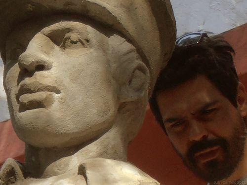 Monumento-al-policía,Juan Carlos Canfield, Escultor Mexicano, Escultura Mexicana,  Escultores de México, Escultores Mexicanos.