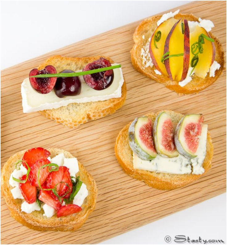 7 canape recipes for a fancy party snow white party for Types of canape