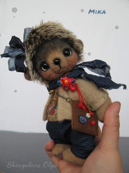 Hedgehog Mika... :-) by By Sheogoleva Olga | Bear Pile