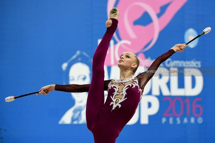 Olena Diachenko (Ukraine), World Cup (Pesaro) 2016