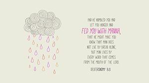 Deuteronomy 8:2–3